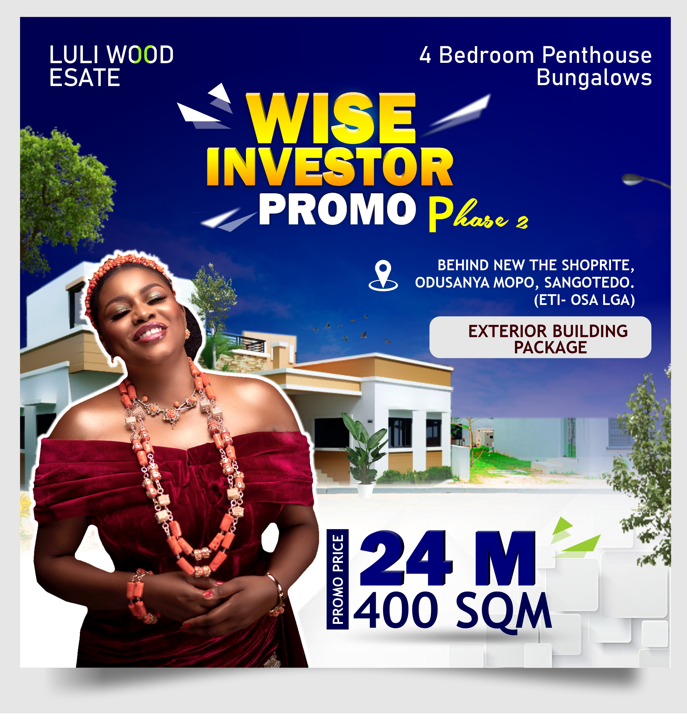 WISE INVESTOR PROMO PHASE 2 4 BEDROOM PENTHOUSE BUNGALOW WEBSITE