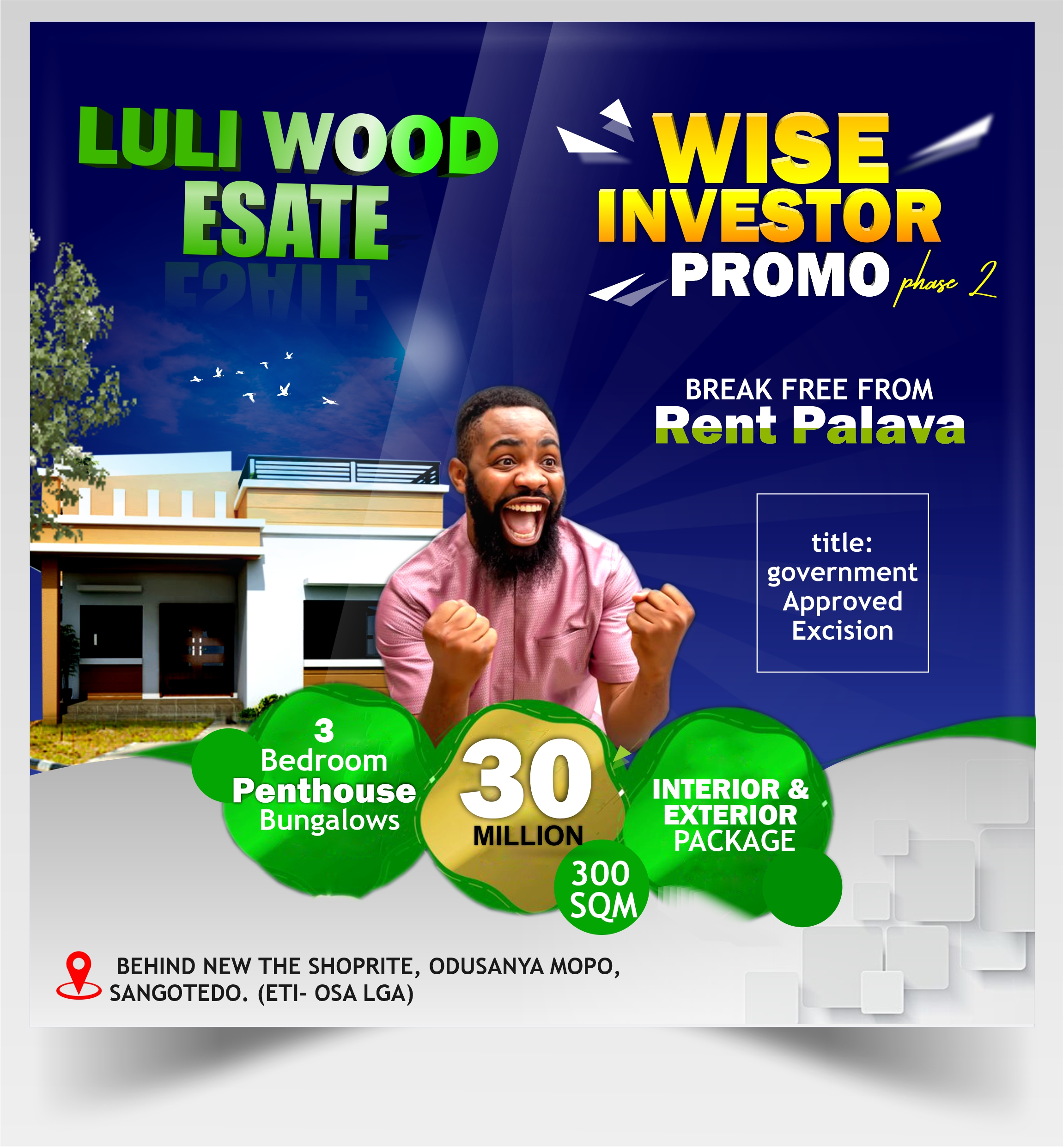 WISE INVESTOR PROMO PHASE 3 BEDROOM PENTHOUSE BUNGALOW WEBSITE