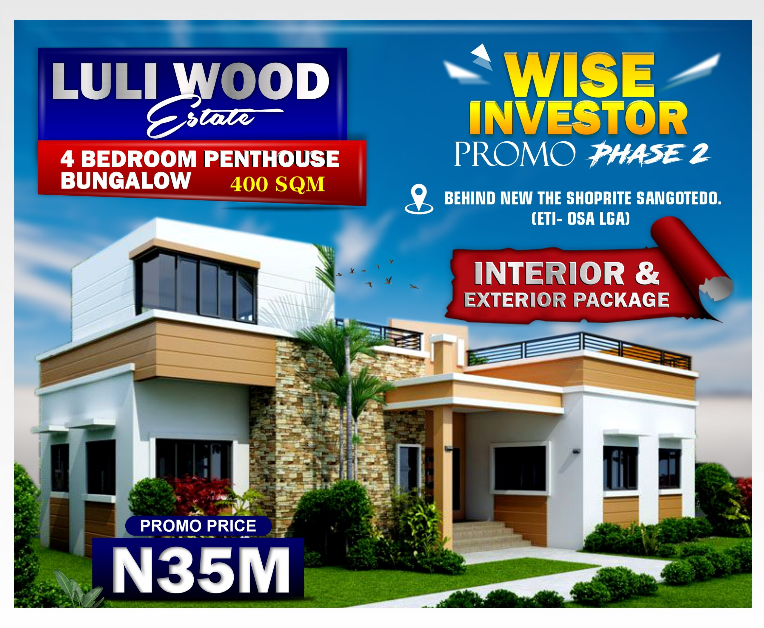 4 BEDROOM INTERIOR AND EXTERIOR